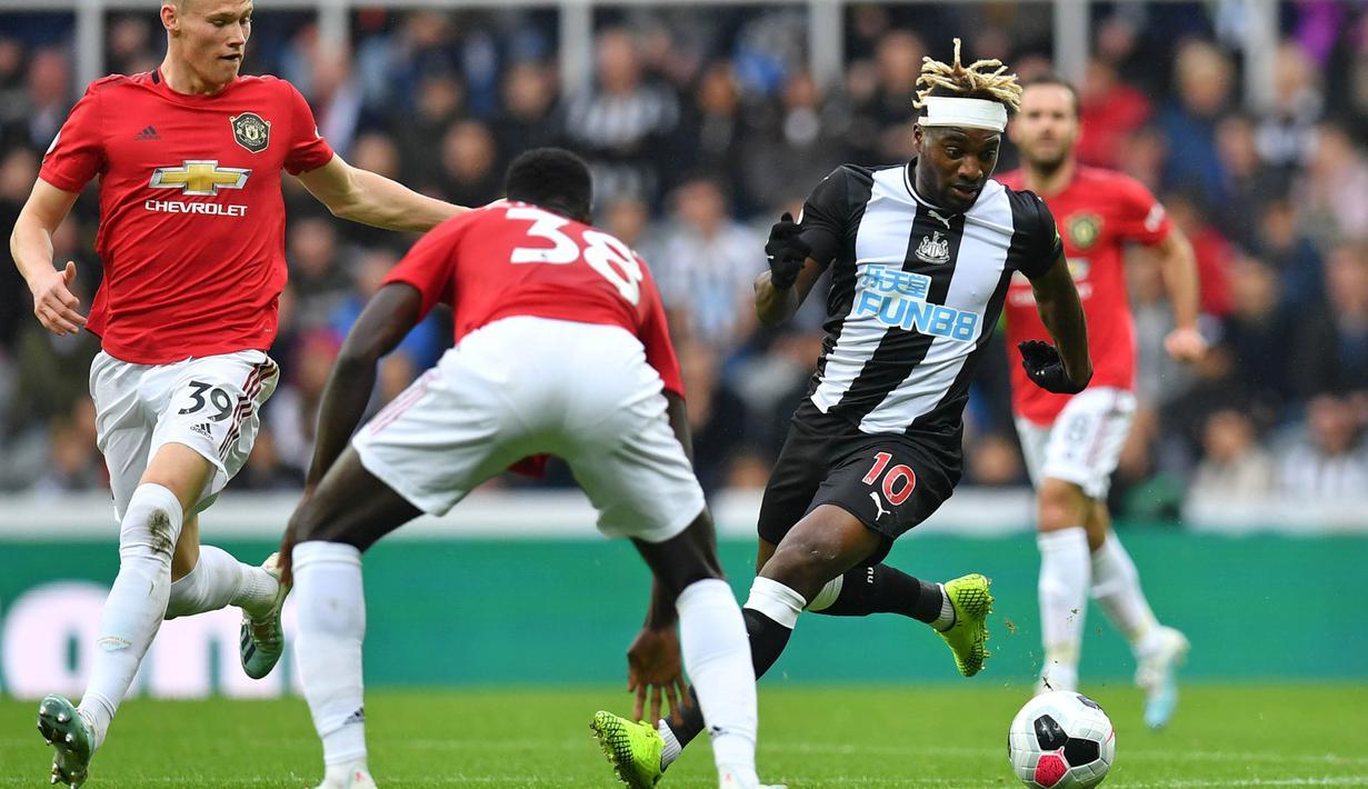 FOTO Kalah Dari Newcastle Manchester United Kian Terpuruk