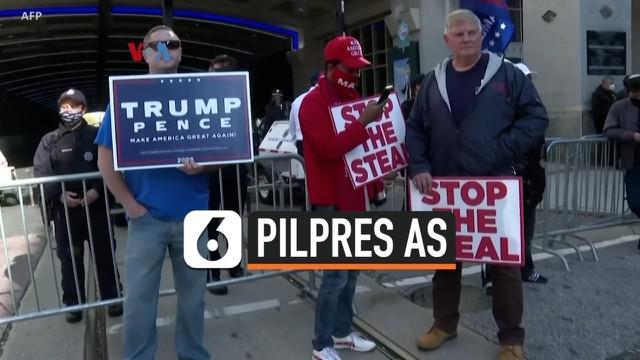Pilpres AS tahun ini diwarnai polarisasi sangat tajam, bahkan dalam menyikapi penghitungan suara yang berlanjut empat hari setelah pilpres. Demo pro-Biden, pro-Trump, anti-penghitungan suara, dan pro-penghitungan suara pun berlangsung di sejumlah kot...