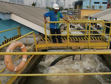 Musim Kemarau, Air Bersih Jakarta Masih Aman