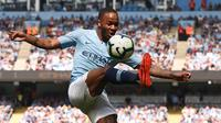 8. Raheem Sterling (Manchester City) 5 gol. ( AFP/Oli Scarff).