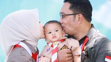 Kemeriahan Ulang Tahun ke-1 Putra Bungsu Ridwan Kamil yang Bertema Pramuka