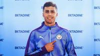 Rodri Hernandez resmi bergabung dengan Manchester City. (dok. Manchester City)