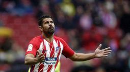 Diego Costa hengkang dari Chelsea ke Atletico Madrid dengan mahar sebesar 58 juta pound sterling. (AFP/Oscar Del Pozo)