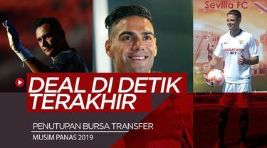 Berita Video pindahnya para pemain sepakbola dunia disaat terakhir bursa transfer musim panas 2019. Siapa saja mereka ?