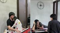 Momen Vicy Melanie Temani Kevin Aprilio Main Piano. (Sumber: Instagram.com/kevinaprilio)