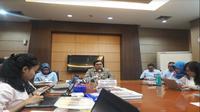 Kemenkeu terus berupaya mempercepat proses pemenuhan hak-hak kepegawaianya yang menjadi korban kecelakaan Pesawat Lion Air JT 610 PK-LQP (Foto:Merdeka.com/Dwi Aditya Putra)
