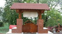 Gapura anjungan Indonesia di Ukraina. (Dokumentasi KBRI Kiev)