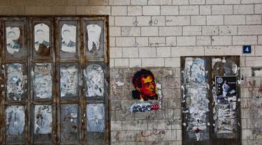 Gambar grafiti Naji Salim al-Ali