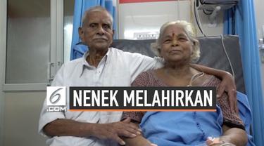 Pasangan lanjut usia India ini akhirnya bisa mewujudkan impian mereka untuk memiliki anak. Erramatti Mangayamma yang berusia 73 tahun melahirkan bayi kembar.