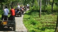 Owabong buka wisata one day trip offroad menyusuri lereng Gunung Slamet, Purbalingga (Liputan6.com/Galoeh Widura)