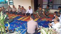Personel TNI dan Polri takjiah ke rumah duka