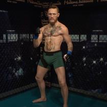 Madame Tussauds New York memamerkan patung lilin petarung UFC, Conor Mcgregor. Patung ini nyaris mirip dengan sosok Mcgregor yang asli.