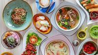 Sajian aneka kuliner khas Indonesia tersaji apik di beberapa restoran ini. (Foto: instagram @cashbacapp)