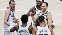 Utah Jazz. (AP/Michael Conroy).