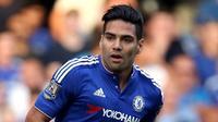 TAJAM - Falcao optimistis kembali tajam bersama Chelsea. (Standard)