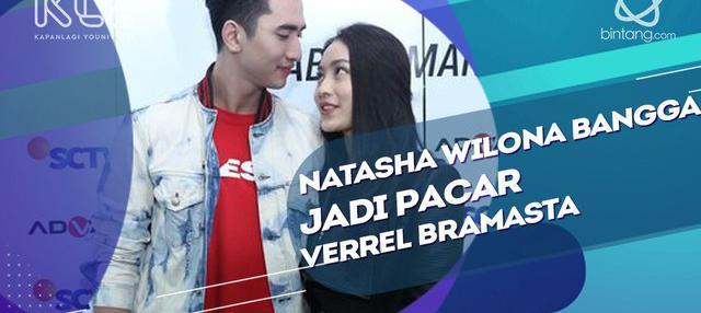 Saling Mendukung, Natasha Wilona Bangga Jadi Pacar Verrel Bramasta