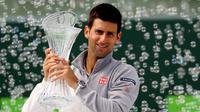 Novak Djokovic (MATTHEW STOCKMAN / GETTY IMAGES NORTH AMERICA / AFP)
