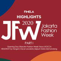 Highlights JFW 2020 Part 1 | Opening Day, Rakuten Fashion Week Tokyo, KOCCA, HEADWAY by Tangan, Oscar Lawalata, dan Sejauh Mata Memandang