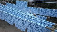 Batik rongkong khas Kabupaten Luwu Utara (Lutra), Sulsel mulai jadi kejaran wisatawan (Liputan6.com/ Eka Hakim)