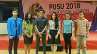 Kepengurusan PUSU 2018 atau Badan Eksekutif Mahasiswa (BEM) nya President University akan dilantik dan mulai aktif bekerja Januari 2018.