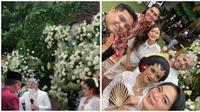 Momen Pernikahan Indah Indriana. (Sumber: Instagram.com/indahlova_malaysia dan Instagram.com/bu_deedee)
