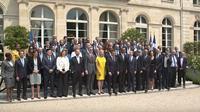 Presiden Prancis,  Emmanuel Macron, menggelar pertemuan Tech For Good (Foto: screenshot via akun YouTube Emmanuel Macron)
