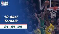 Berita Video 10 Aksi Pemain Terbaik NBA 21 Januari 2020