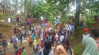 Pasar Mammesa Enrekang. (KabarMakassar.com)