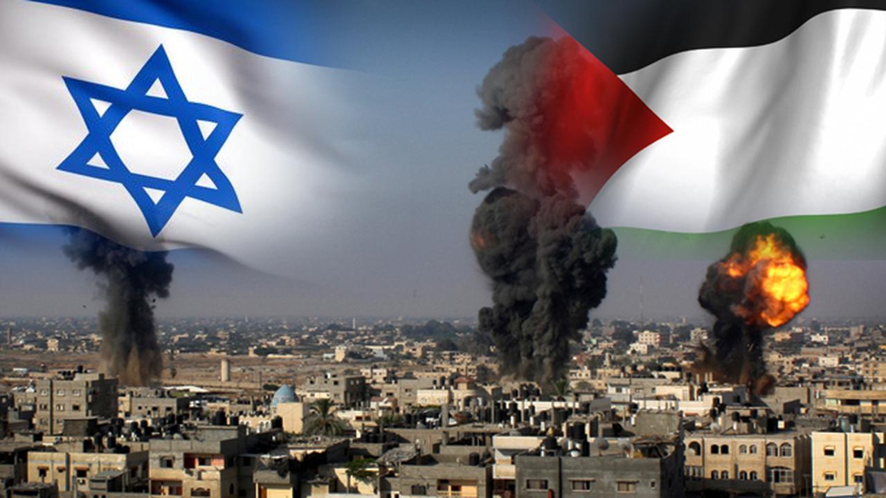 Ilustrasi konflik Israel Palestina