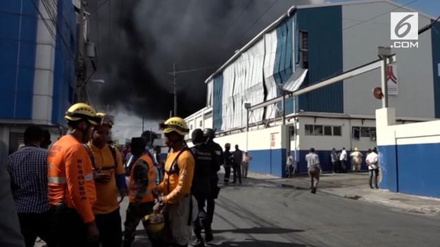Pabrik plastik di Dominika meledak akibatkan 3 orang tewas dan lainnya luka-luka.