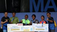 Team Djarun Kenjcak Sukses Raih Juara Kudus Relay Marathon 2019
