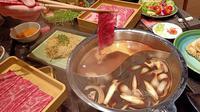 Shabu-shabu di Restoran Momo Paradise. (Liputan6.com/Dinny Mutiah)