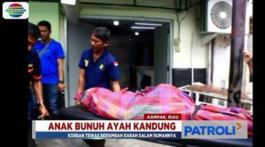 Dari hasil penyelidikan sementara, pelaku diduga menghabisi korban dengan menggunakan senjata tajam. Di tubuh korban ditemukan dua luka tusuk.