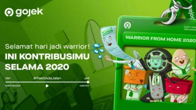Kilas Balik Gojek 2020 Cari Tahu Status Warrior Dan Kontribusi Kamu Showbiz Liputan6 Com