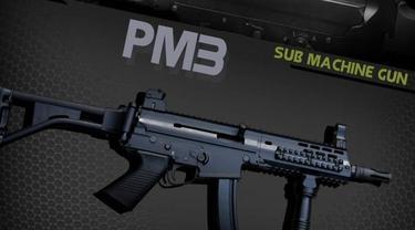 Pistol Machine 3 (Foto: Pindad)