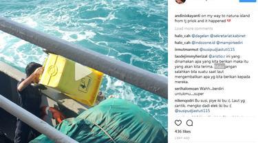 Video orang buang sampah ke laut