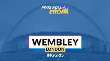 Berita video profil Stadion Wembley yang akan menjadi stadion laga final Piala Eropa 2020.