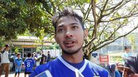 Pemain Persib Bandung, Gian Zola. (Bola.com/Erwin Snaz)