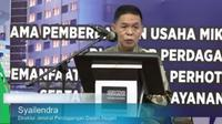 Direktur Jenderal Perdagangan Dalam Negeri Kementerian Perdagangan, Syailendra (Liputan6.com/Komarudin)