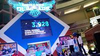 Megaxus Olimpiade 2014 di Mall Ciputra, Jakarta (Liputan6.com/Adhi Maulana)