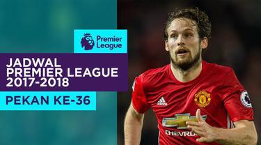 Berita video jadwal Premier League 2017-2018 pekan ke-36. Manchester United ditantang Arsenal di Old Trafford, Manchester.