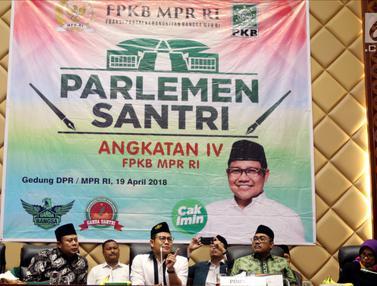Cak Imin Bicara Demokrasi di Parlemen Santri Nusantara