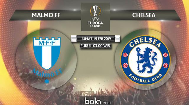 Liga Europa: Malmo FF Vs Chelsea (Bola.com/Adreanus Titus)