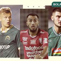 Marco Motta, Petteri Pennanen, Brwa Nouri, Yevhen Bokhashvili. (Bola.com/Dody Iryawan)