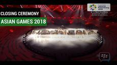 Berita video mengenai  acara penutupan Asian Games 2018 diselenggarakan di Stadion Utama Gelora Bung Karno (SUGBK), Jakarta, Sabtu (2/9/2018).