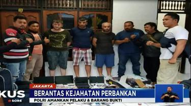 Saat ini Polri tengah melakukan penyidikan pada kasus kejahatan perbankan yang terjadi di Bali, Yogyakarta dan Jakarta.