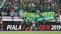 Duel Persebaya melawan Tira Persikabo dalam babak perempat final Piala Presiden 2019 di Stadion Gelora Bung Tomo, Surabaya (29/3/2019) mencatatkan rekor. (Bola.com/Aditya Wany)