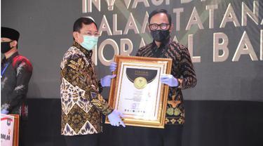 Wali Kota Bogor Dapat Penghargaan Inovasi