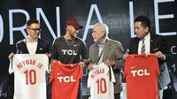Neymar Jr. dan TCL. Dok: TCL