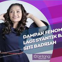 Intip pengakuan Siti Badriah soal dampak dari lagu lagi syantik.